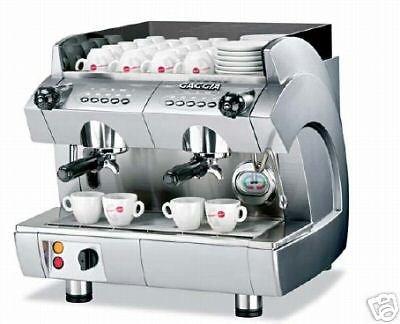 ESPRESSO MACHINE 2 GROUP NEW IN BOX GAGGIA GD COMPACT COMMERCIAL GRADE