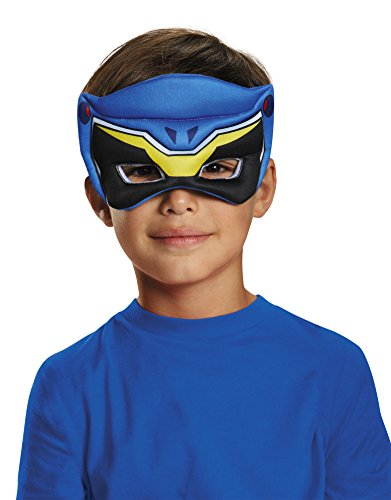 Disguise Blue Ranger Dino Charge Puffy Mask Costume