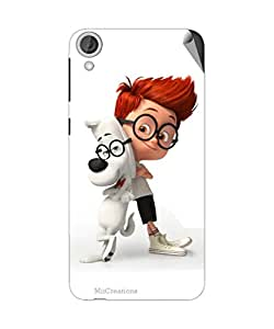 Miicreations Mobile Skin Sticker For HTC Desire 820,Cartoon Character