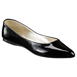 Product Image Women's Xhilaration® Saniya Point Toe Flats - Black Patent