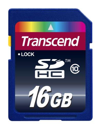 Transcend SDHCカード 16GB Class10 永久保証 [フラストレーションフリーパッケージ (FFP)] TS16GSDHC10E