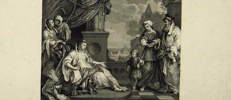モーゼのファラオの娘の宗教聖書の印刷物 C1835