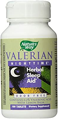 Nature's Way Valerian Nighttime, 100 Tablets