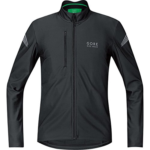 GORE BIKE WEAR, Maglia ciclismo Uomo, Maniche lunghe, Termica, GORE Selected Fabrics, ELEMENT Thermo, Taglia XL, Nero, SELETM080006