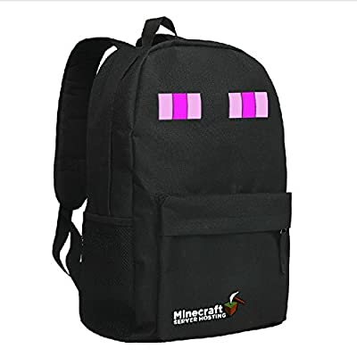 Minecraft Creeper Backpack Black 1# by Minecraft