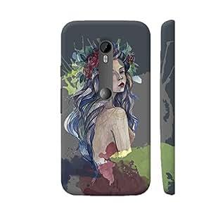 Colorpur Boho Chick Designer Mobile Phone Case Back Cover For Motorola Moto G3   Artist: Abhinav