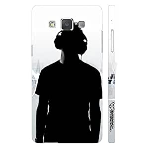 Samsung Galaxy A5 LIVE THE MUSIC designer mobile hard shell case by Enthopia