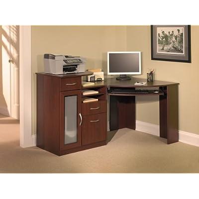 Executive Corner Office Compact 59 Quot Cherry Computer Desk W