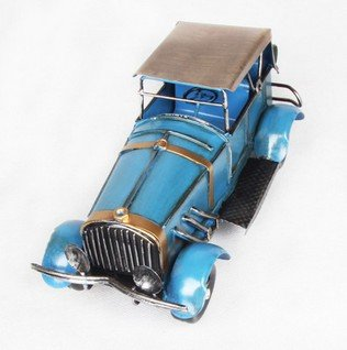 Pure in metallo macchine creativo desktop Decorazione ferro decorazioni casa nostalgico retro classico automobili modello ferro Naso
