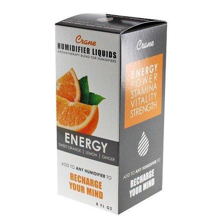 Crane Energy Humidifier & Diffuser Aromatherapy Liquid 8oz (Crane Orange Humidifier compare prices)