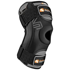 Troy Lee Designs Shock Doctor 870 Adult Knee Stabilizer Motocross Motorcycle Body Armor - Black / Small