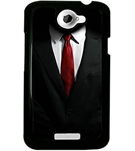 ColourCraft Formal Look Design Back Case Cover for HTC ONE X