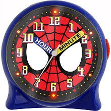 Spidermant Light up Clock (Time Teacher Desk Clock)