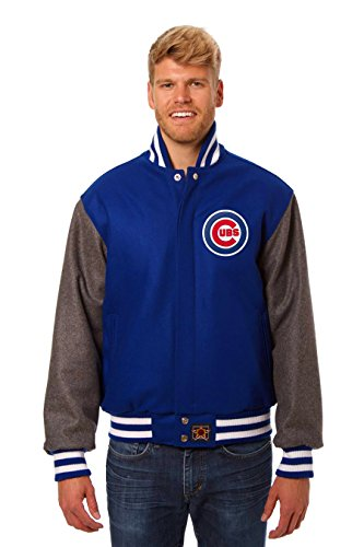 Chicago Cubs Wool Varsity Jacket (X-Large)