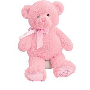 Gund Baby My First Teddy-Medium-Pink from Gund