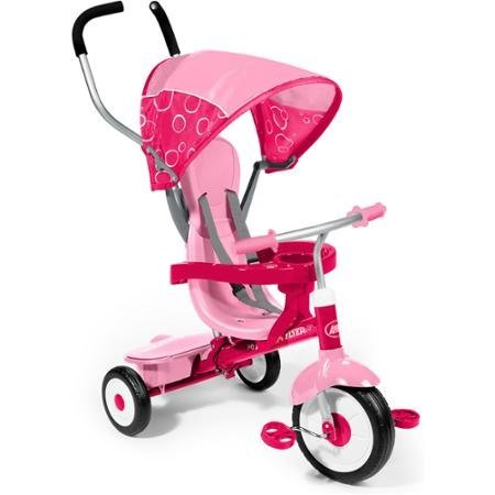 Radio Flyer Pink 4-in-1 Trike by Radio Flyer (Radio Flyer Pink 4 In 1 Trike compare prices)