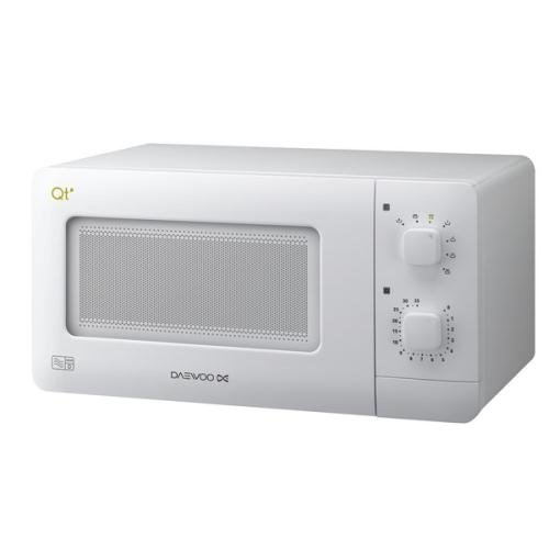 daewoo compact manual microwave white 14 litre 600w. Black Bedroom Furniture Sets. Home Design Ideas