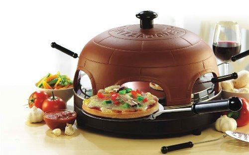 CellarDine PizzaDome Fondue Mini Pizzas