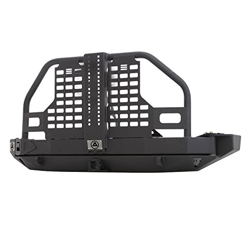 Smittybilt 76896 XRC Atlas Rear Bumper And Tire Carrier (Atlas Tire compare prices)