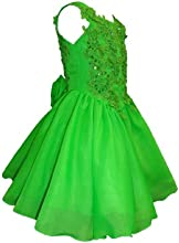 Unotux Baby Toddler Girl National Glitz Pageant Formal Dress Lime Green Sz 1- 7