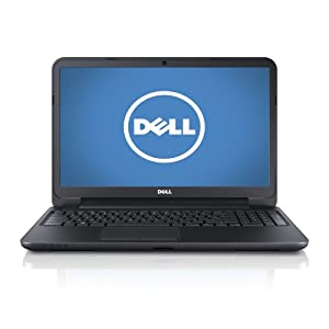 Dell Inspiron 15 i15RV-953BLK 15.6 - Inch Laptop (1.90GHz Intel Pentium 2127U  4GB DDR3, 500GB HDD) Black Matte with Textured Finish