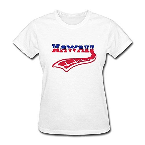 Create Custom Hawaii Heart Beat Tattoo Adult Standard T-Shirt For Women