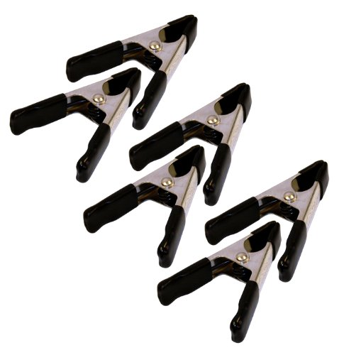 Rolson 50mm Spring Clamp Set (6 Pieces)