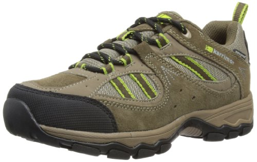 Karrimor Womens Snowdonia Low Weathertite Trekking and Hiking Shoes K485-BRC Brown/Citrus 4 UK, 37 EU, 5 US
