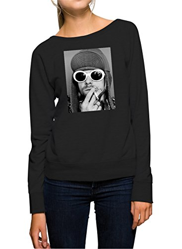 Kurt Smoking Sweater Girls Nero Certified Freak-L