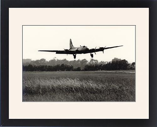 Framed Artwork of Boeing B-17G Flying Fortress, /G-BEDF, Sally B,