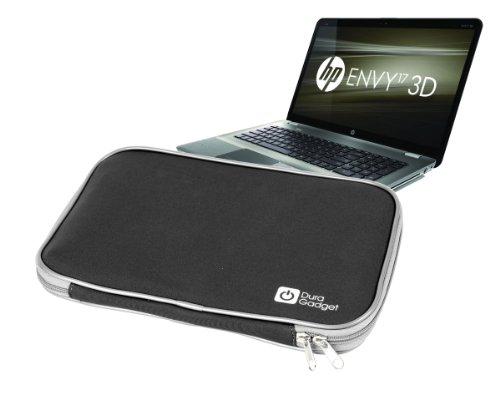 Durable Black Netbook Sleeve Suitable for HP Envy 17