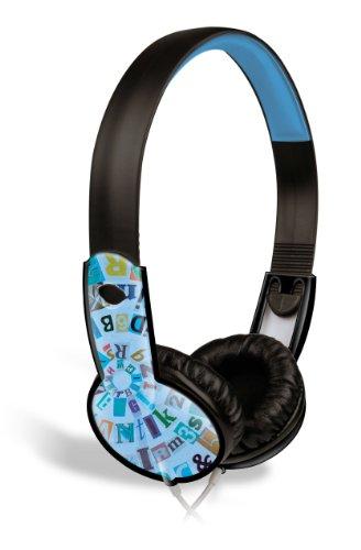Maxell Safe Soundz Overear Headphones - Blue (190297)