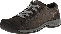 KEEN Women\'s Reisen Lace Shoe,Black,5 M US