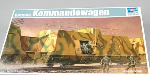 Trumpeter 1/35 WWII German Army Kommandowagen Armored Troop Transport Rail Car (Trumpeter 1 35 Rail compare prices)