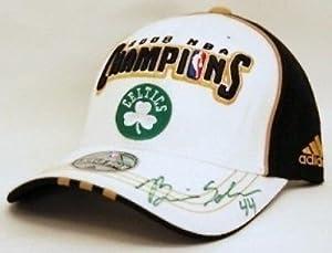 Brian Scalabrine Boston Celtics Signed 2008 Champs Hat by Your Sports Memorabilia Store