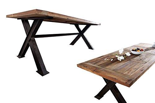industrial esstisch com forafrica. Black Bedroom Furniture Sets. Home Design Ideas