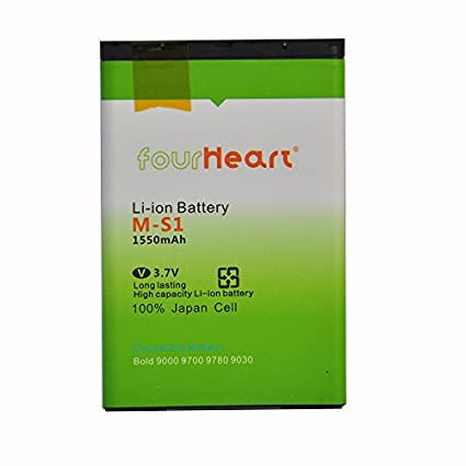 Fourheart M-S1 1550mAh Battery (For BlackBerry Bold 9000)