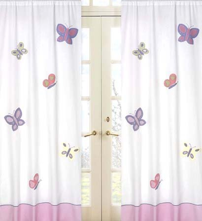 plum curtains on BedBathStore.com