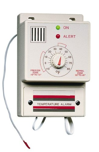 Surface-Mount Refrigeration Alarm; temperature range; -25 - 30C, 110V