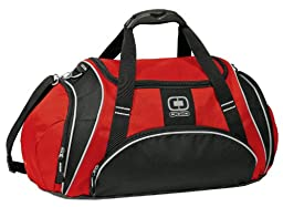Ogio Crunch Duffle Bag (Red)