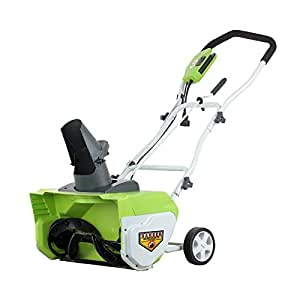"GreenWorks 26032 12 Amp 20"" Corded Snow Thrower"