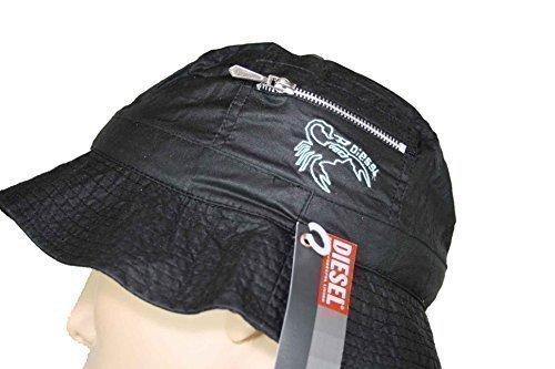 Diesel Cappello Da Pesca Cappello Estivo Cappello Safari Cecim Berretto #2 - Nero, 2, 2