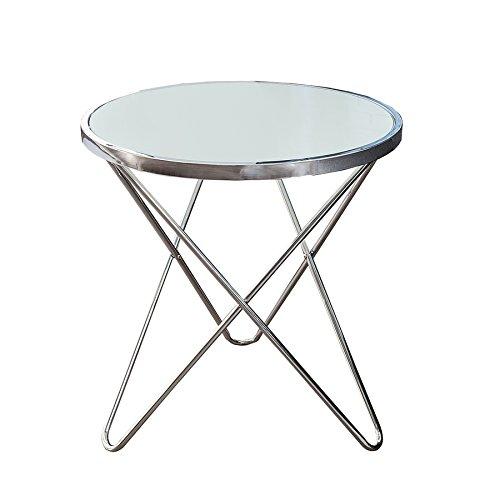 Design-Couchtisch-ORBIT-55-cm-chrom-opal-wei-Beistelltisch-Wohnzimmertisch-Tisch
