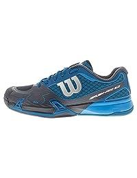 Wilson Men's Rush Pro 2.0 Tennis Shoes, Ultramarine Wil/Coal Wil/Meth Blue