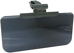 ミラリード(MIRAREED) サンバイザー スライドバイザースクリーン4 スモーク/ブラック SZ-68