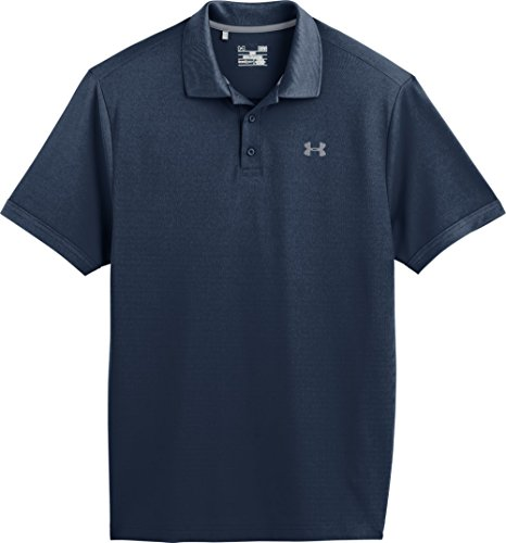 Under Armour, Maglietta Polo Uomo Performance 2.0, Blu (Ady/Stl), XXL