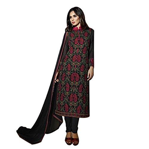 Pakistani Straight Salwar Kameez Suit Wedding Ethnic Muslim Women