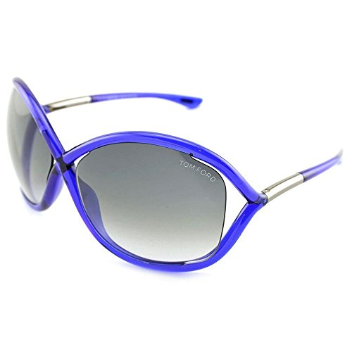 Tom Ford Sunglasses - Whitney / Frame: Shiny Blue Lens: Grey Gradient (Tom Ford Whitney Sunglasses Women compare prices)