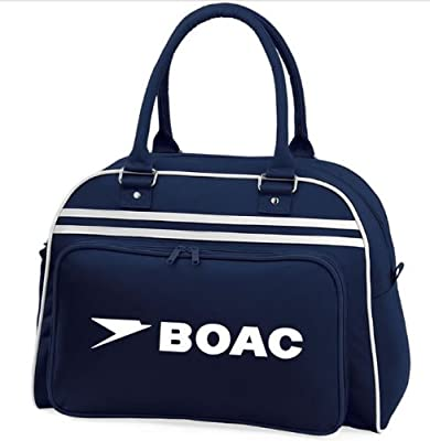 Retro BOAC Flight Shoulder Bag