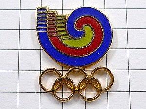限定レア美品ピンズ◆韓国ソウル五輪オリンピック1988ピンバッジ